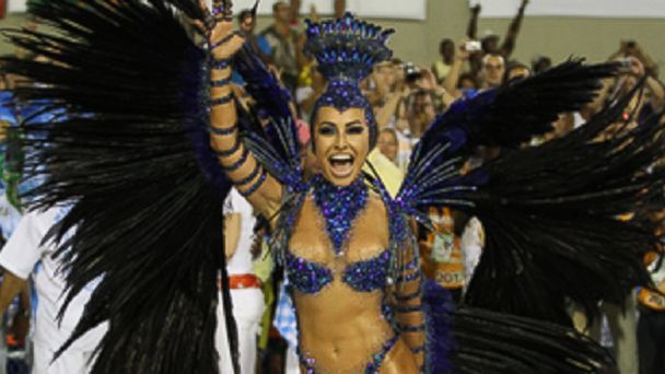 PHOTO: Rio de Janeiro Carnaval dancer