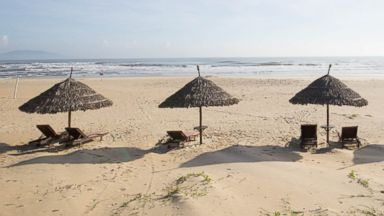PHOTO: The Sandy Beach in Central Vietnam.
