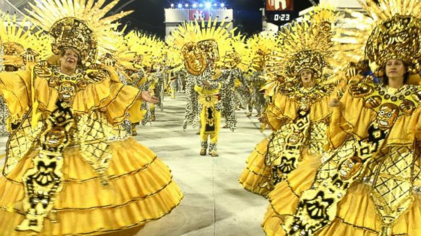 PHOTO: Sao Paulo Samba School