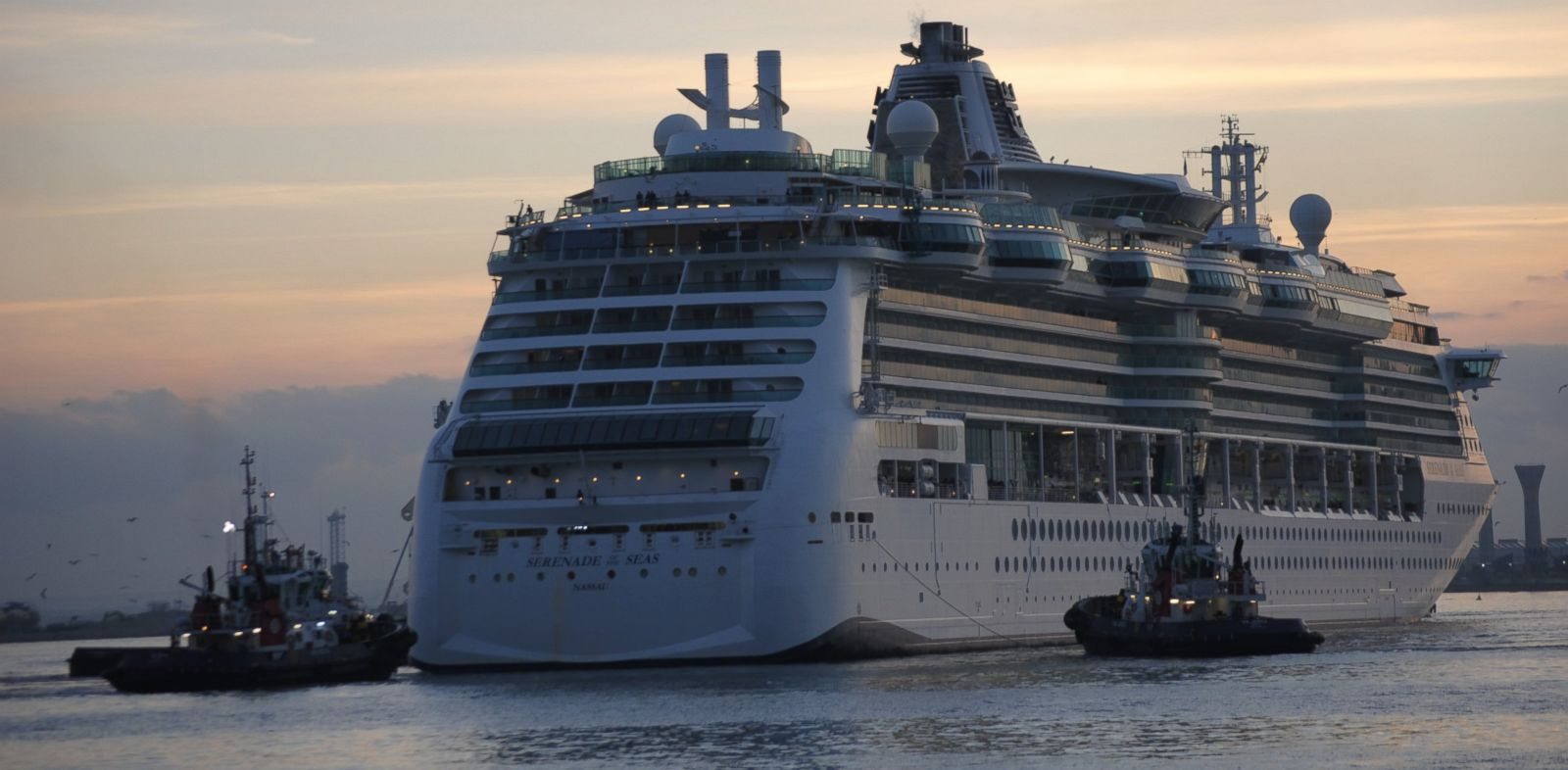 "PHOTO: Royal Caribbeans ""Serenade of the Seas"" ship."