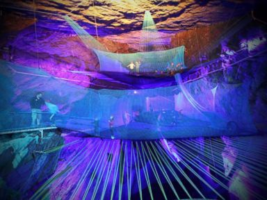 Now Open: World's Largest Underground Trampoline