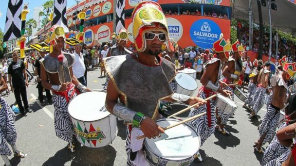PHOTO: Carnaval Salvador Drummers