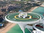 PHOTO: Dubais famous ultra-luxe hotel now offers guests the opportunity to get married on its helipad above the Arabian Gulf.