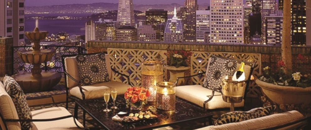 PHOTO: The Fairmont San Francisco is offering a $1 Million luxury hotel package for the Super Bowl 50 game.