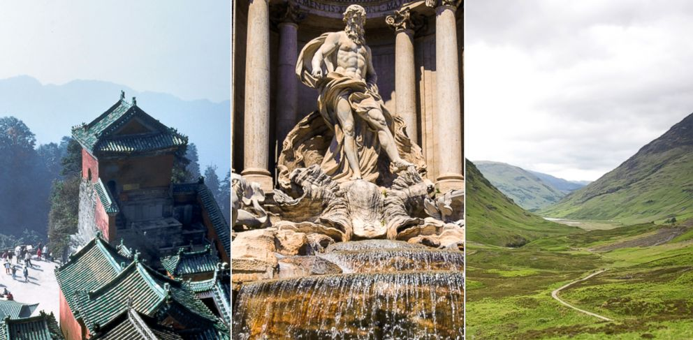 PHOTO: VeryFirstTo.com has launched a lavish tour of some of the worlds most memorable and breathtaking sites from legendary film scenes.