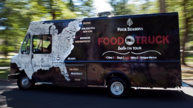 PHOTO: The Four Seasons food truck is on an East Coast tour.