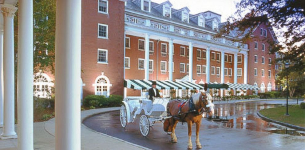PHOTO: An exterior view of the Gideon Putnam Hotel.