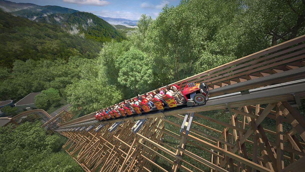 PHOTO: Dollywood will debut the worlds first and fastest wooden roller coaster in 2016.
