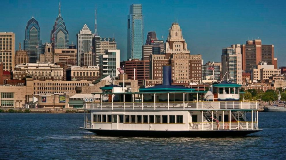 PHOTO: The 100-foot RiverLink Ferry offers passage between Philadelphia and the Camden waterfronts.