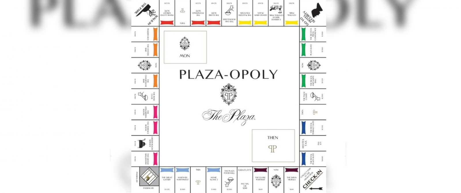 PHOTO: This month, The Plaza Hotel will be introducing its first ever Plaza-opoly board game