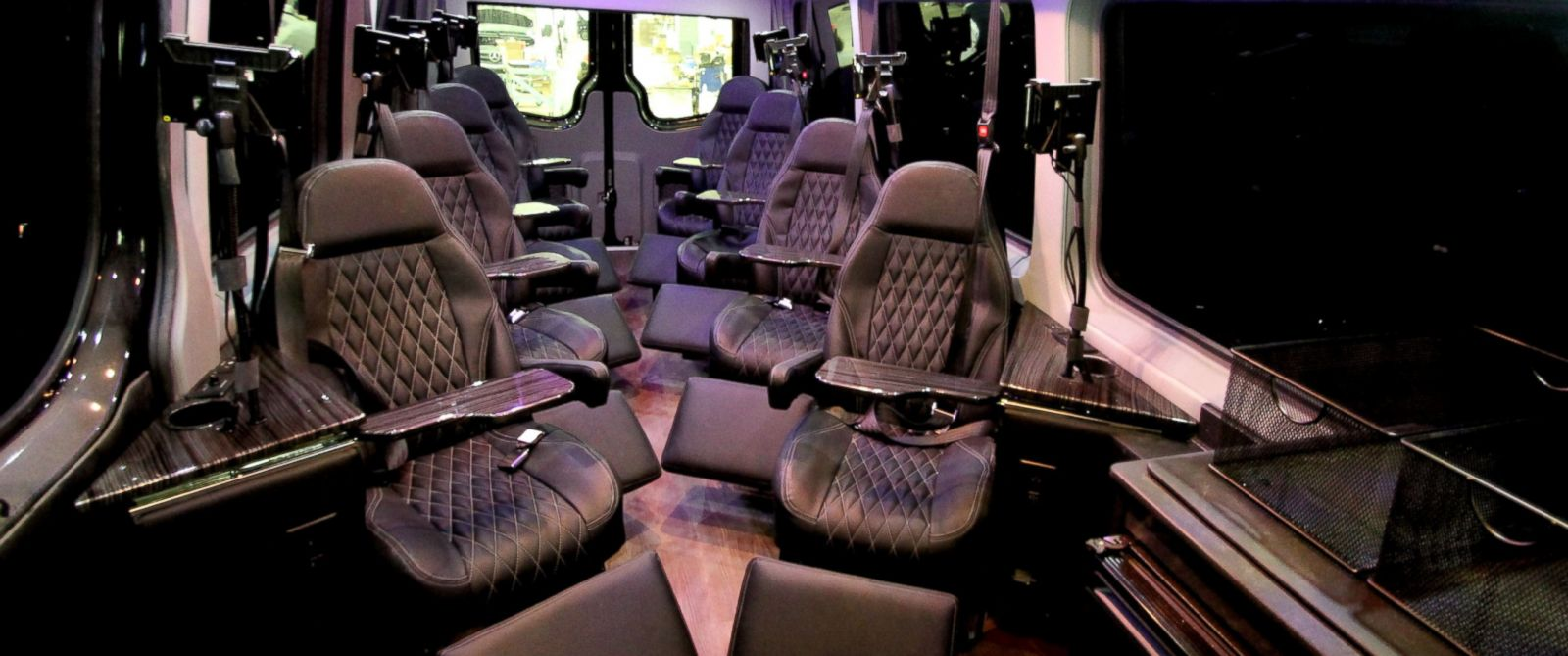 PHOTO: Royal Sprinter offers luxury van transportation between New York and Washington, D.C.