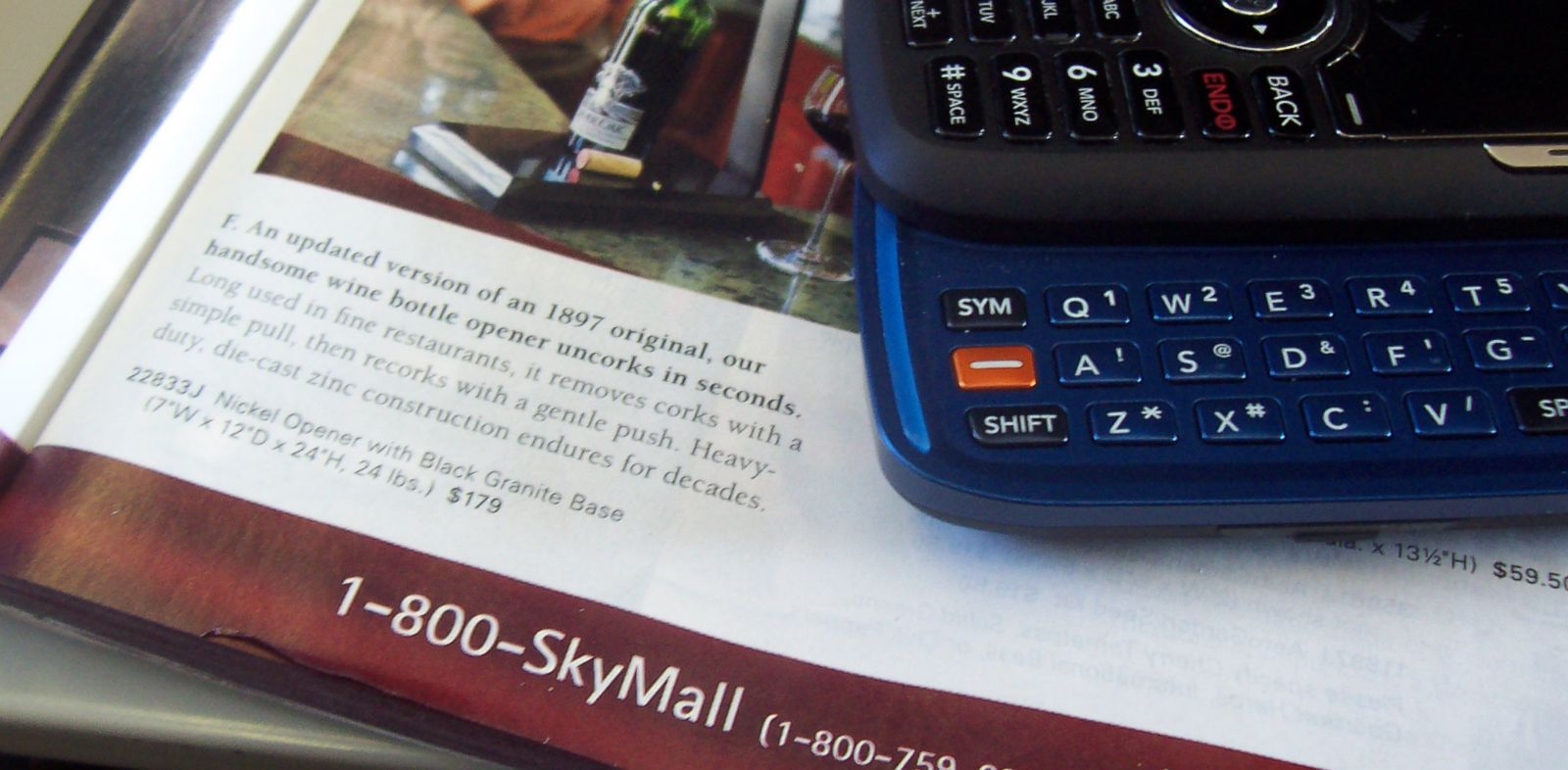PHOTO: An issue of Skymall, pictured Dec. 27, 2008.