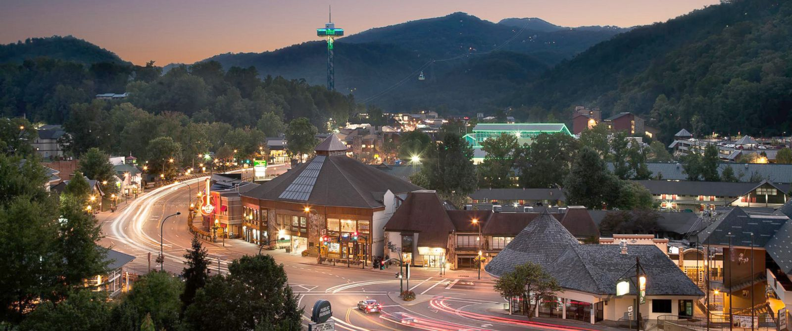 PHOTO: Gatlinburg in Tennessees Great Smoky Mountains is named the top U.S. destination on the rise by TripAdvisor.