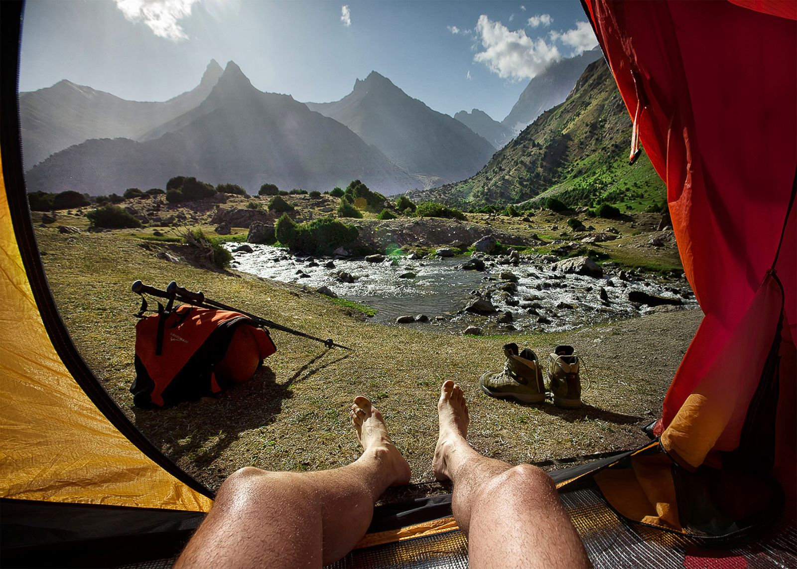 Секс на отдыхе в горах 18 фотография