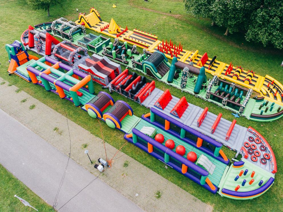 photo the beast is the worlds biggest bouncy castle