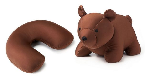 PHOTO: For your traveling child, the Travel Pillow Bear, $24.