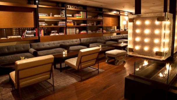 PHOTO: Library at Trump SoHo, New York.
