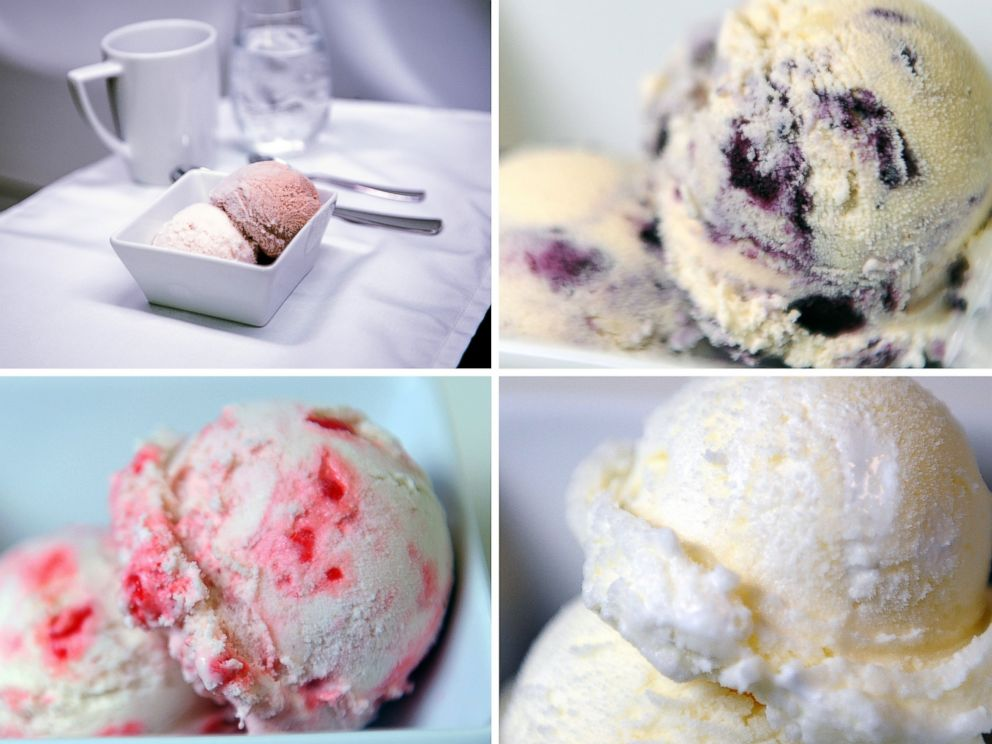 PHOTO: Virgin America's First Class Menu will soon feature a signature ice cream flavor created by San Francisco-based parlor Humphry Slocumbe.