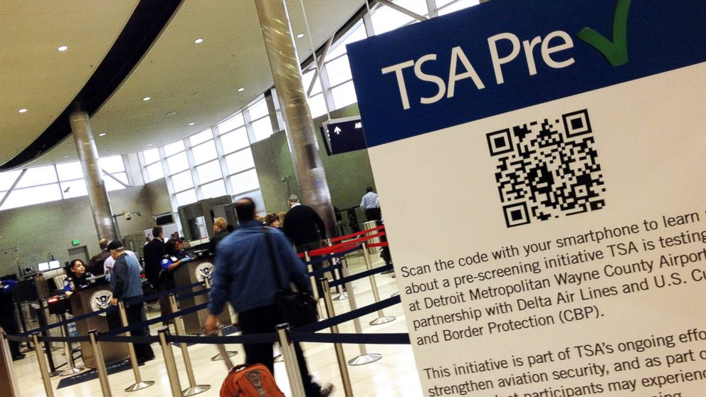 PHOTO: One benefit of having a Global Entry card is that you can use the TSA Pre-Check lanes