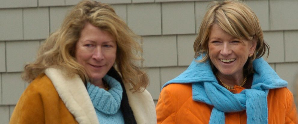 PHOTO: Martha Stewart, right, walks on the grounds of her estate with her sister Laura Plimpton in Bedford, New York, in this March 6, 2005, file photo.