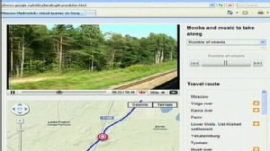 VIDEO: Google site lets people ride the Trans-Siberian Express using their computers.