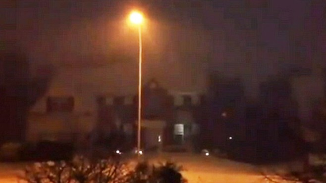 VIDEO: Snow thunder startles one family in Sellersville, Penn.