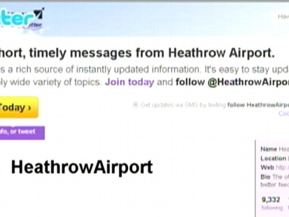 VIDEO: Flights across Europe are taking off again, some with help from Twitter.
