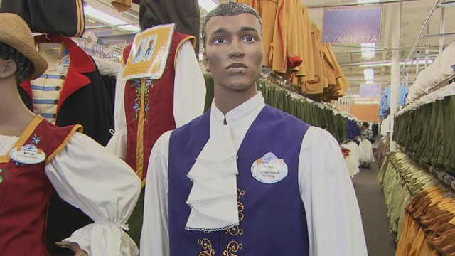 VIDEO: A look at how thousands of cast members get dressed for work each day.