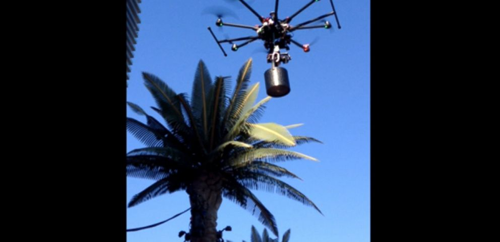VIDEO: Marquee DayClub charges $20K for champagne delivered by drone.