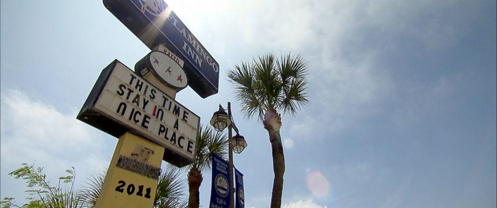 PHOTO: An exterior shot of the Flamingo Inn in Daytona Beach, Fla.