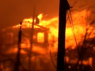 50 Homes Ablaze in NYC After Sandy