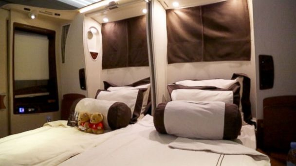 abc teddy bear mt 141009 16x9 608 Ultra Luxury Travel: Inside Singapore Airlines Private Suites