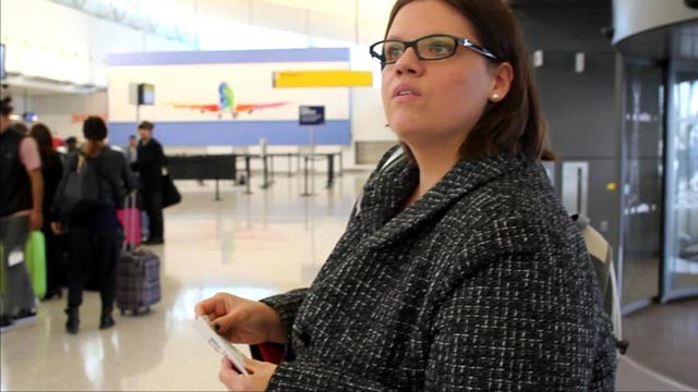 PHOTO: Kenlie Tiggeman from New Orleans is suing Southwest Airlines for