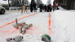 Frozen Turkey Bowling in America's Coldest Town