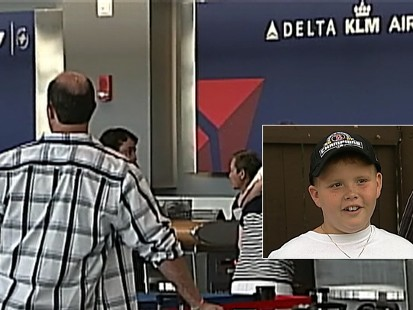 Video: Airline sends boy to the wrong state.