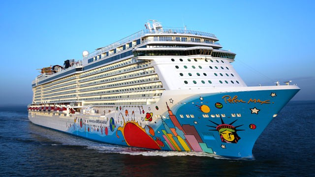 Norwegian Cruise Line39s Breakaway In New York State Of