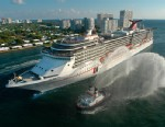 PHOTO: The Carnival Legend, a 2,100-passenger, 960-foot-long cruise ship arrives at Port Everglades in Fort Lauderdale, Fla., in this Nov. 8, 2002 file photo.