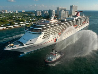Carnival Legend Heads Back to Work