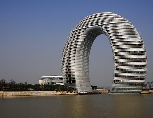 'Doughnut Hotel' to Open in China