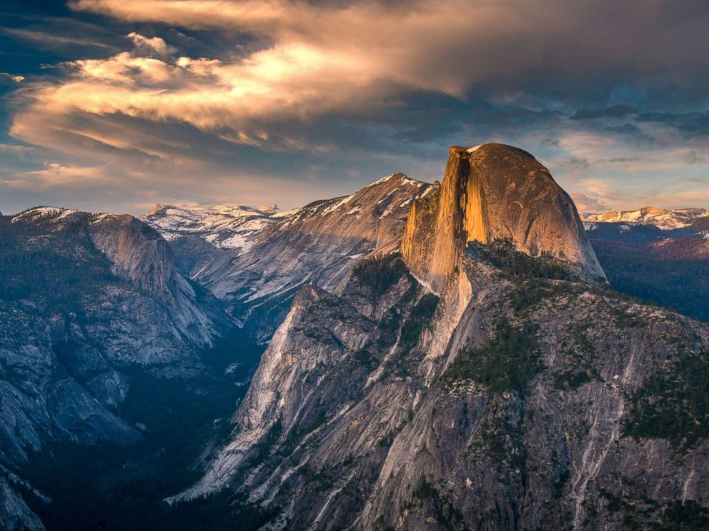 PHOTO: Glacier Point in Yosemite National Park is pictured in this undated stock photo.