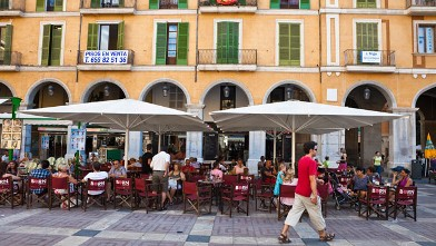 PHOTO: Seen here in this file photo is the Plaza Mayor located in, Majorca, Palma de Majorca, Balearic Islands, Spain.
