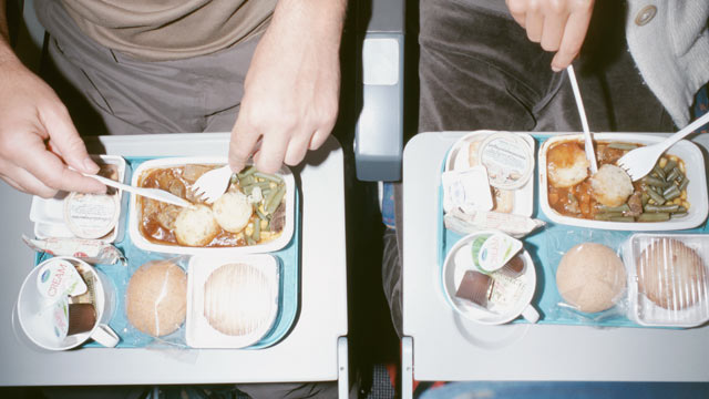 PHOTO: Here are the top complaints about airplane food.