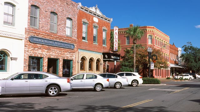 PHOTO: This charming town on Amelia Island Florida, has a 50-block historical district known as Old Town that is listed on the National Register of Historic Places.