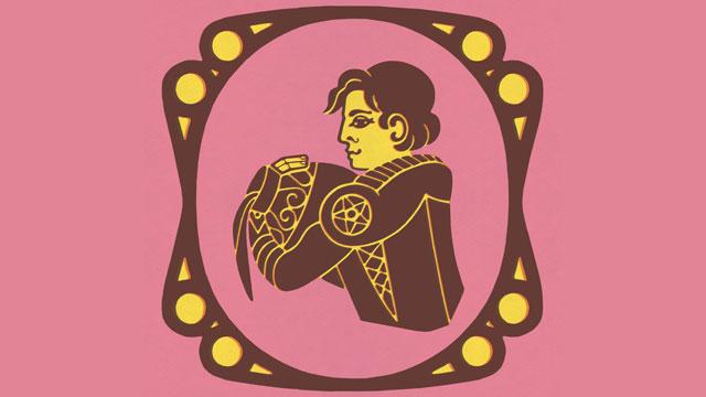 PHOTO: Aquarius Zodiac Symbol
