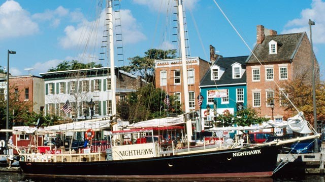 PHOTO: Fells Point, just one of the many places to see when visiting Baltimore.