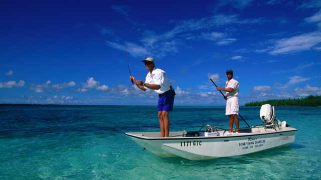 PHOTO: The Bahamas happens to be one of the best spots on the planet to try your hand at catching bonefish, a pastime that is as legendary as it is addicting.