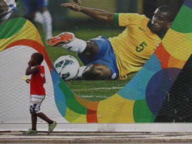 World Cup Murals Heat Up Brazil's Streets