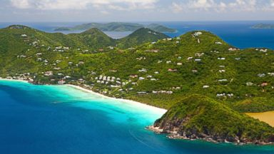 PHOTO: The British Virgin Islands many secluded shores make a perfect escape for honeymooners, divers, beach bums and novice boaters.