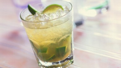 PHOTO: The national cocktail of Brazil is the caipirinha.