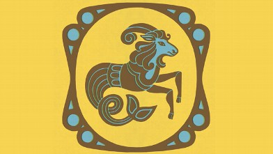 PHOTO: Capricorn Zodiac Symbol